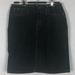 Squeeze by Stephen Hardy Denim Skirt size 9/10